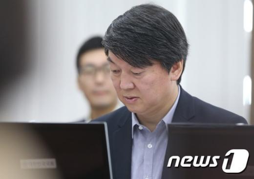 안철수 새정치민주연합 전 공동대표. 2014.10.24/뉴스1 © News1 송원영 기자