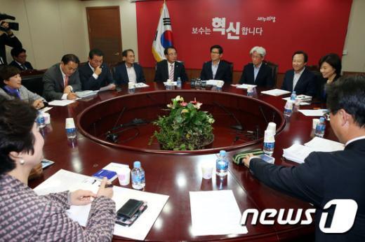 새누리당 보수혁신특별위원회 전체회의 모습./뉴스1 © News1 이광호 기자