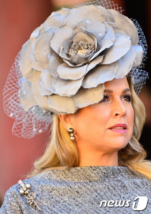 [사진]네덜란드 왕비의 패션