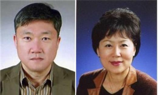신임 윤석준 건강보험심사평가원 기획상임이사(왼쪽부터), 변성애 업무상임이사.© News1
