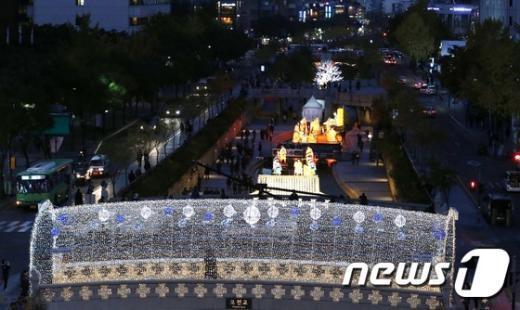 [사진]서울 밤 '반짝 반짝'