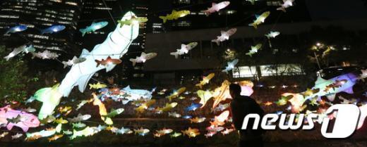 [사진]서울 밤 '빛이 초롱 초롱'