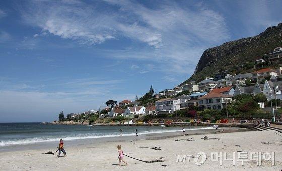 남아프리카공화국 케이프타운 피시호크 해변/사진=김유경기자