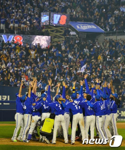 [사진]우리가 우승이다!