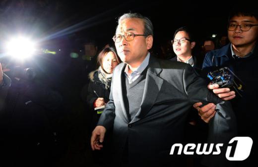 [사진]만기 출소한 박영준 전 차관