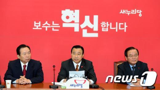 이완구 새누리당 원내대표. 2014.11.12/뉴스1 © News1 박세연 기자