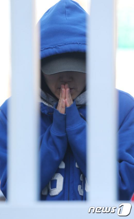 [사진]'간절한 기도'