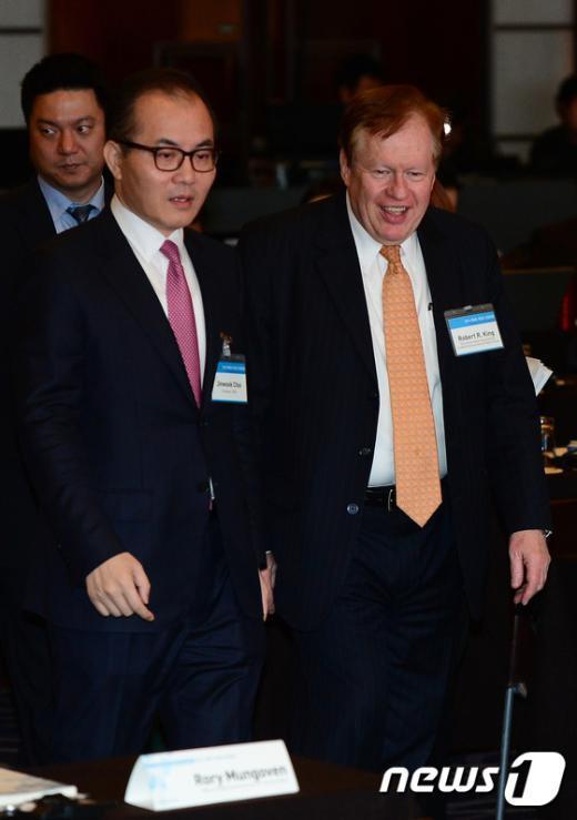 [사진]로버트 킹 美 특사 '북한 인권포럼' 참석