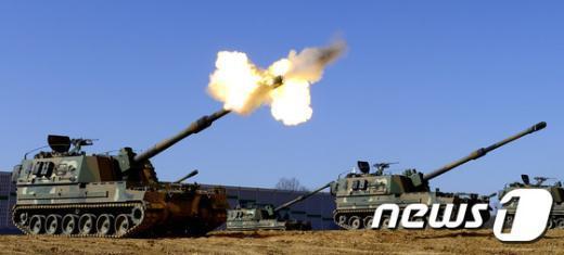 [사진]육군, 전면전대비 실사격 훈련