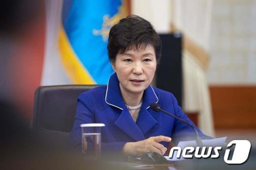 [사진]국무회의 주재하는 박근혜 대통령