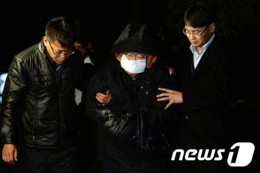 [사진]긴 도피생활 마친 '유병언 최측근' 김필배