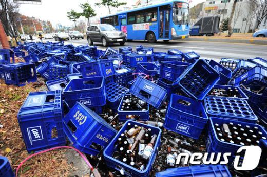 [사진]'술에 취한 도로'