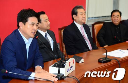김태호 새누리당 최고위원 /뉴스1 © News1 박세연 기자