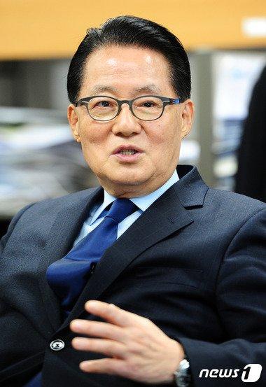 박지원 새정치민주연합 의원 /뉴스1 © News1 김대웅 기자