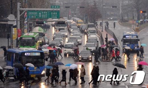 [사진]눈내리는 서울