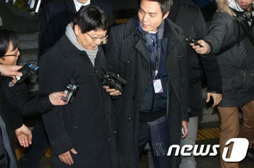 [사진]박지만 회장, '착잡한 귀가'