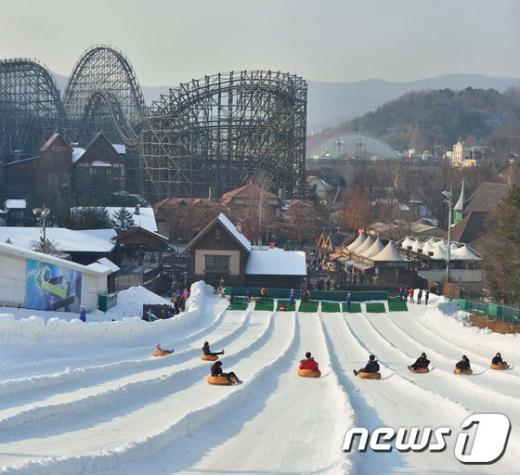 [사진]겨울은 썰매의 계절