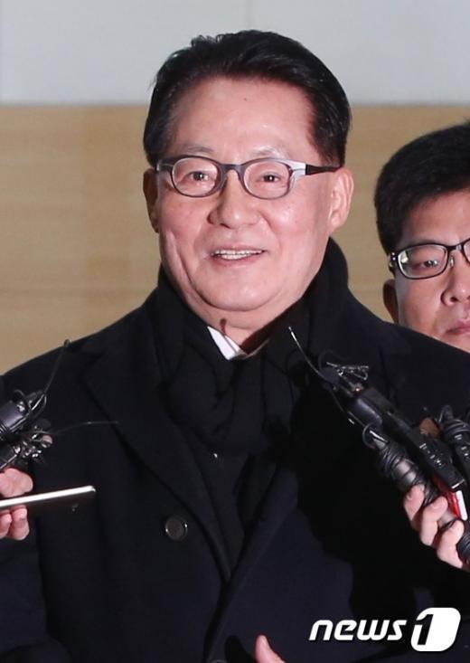 [사진]박지원 의원 '김정일 3주기 맞아...'