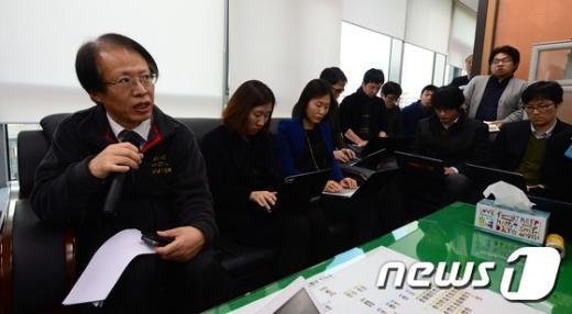[사진]국토부, 조현아 전 부사장 폭행 사실 여부는 검찰에서 확인 할 문제