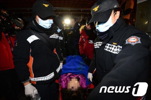 [사진]서울고속터미널 지하상가 명도집행