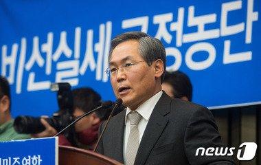 우윤근 새정치민주연합 원내대표 /뉴스1 © News1 유승관 기자