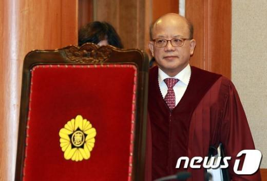 [사진]헌법재판소 '통합진보당 해산'