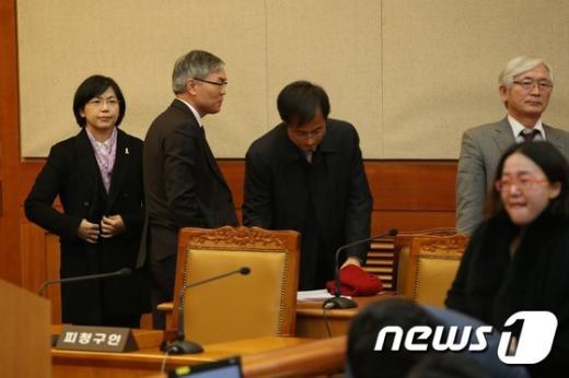 [사진]재판정 나서는 이정희