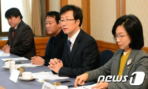 천호선 정의당 대표. 2014.11.17/뉴스1 © News1 박세연 기자