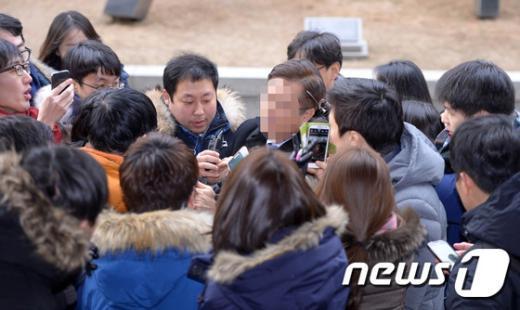 [사진]'증거인멸 주도' 혐의 대한항공 임원 피의자 신분 재소환