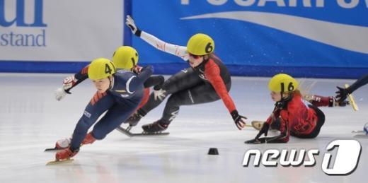 [사진]女 3,000m 역주하는 노도희