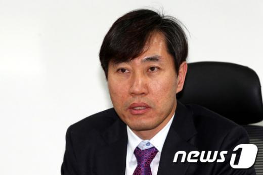 [사진]하태경, 통합진보당 해산 관련 기자간담회