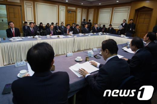 [사진]당·정, 2015년도 경제정책방향 논의