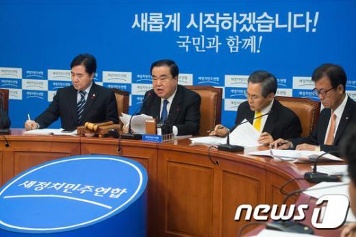 [사진]새정치민주연합 비상대책위원회의