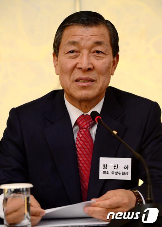 [사진]좌담회 인사말하는 황진하 위원장