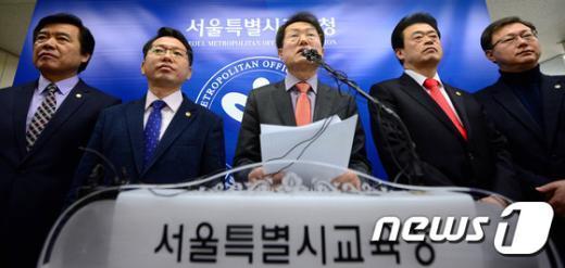 [사진]안전ㆍ안심 학교급식을 위한 공동 기자회견