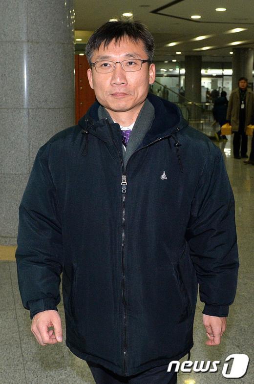 [사진]굳은 표정의 이상규 전 통진당 의원