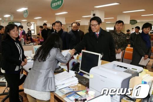 [사진]국회 병영혁신특위, 징병검사장 현장 점검