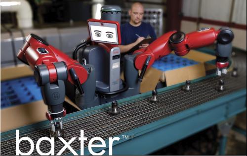 단돈 2500만 원으로 고용할 수 있는 저렴한 로봇 노동자 백스터(Baxter)