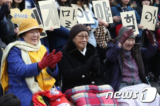 [사진]할머니들의 따뜻한 마음