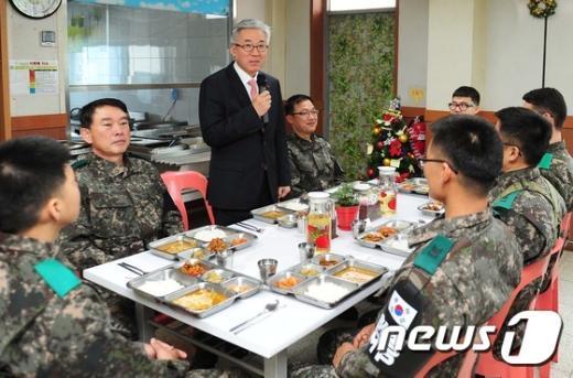 [사진]격려사하는 김종덕 장관