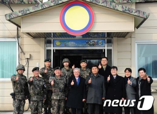 [사진]국군 장병 여러분 감사합니다