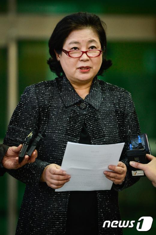 [사진]'내년에 금강산 관광 재개 기대해 봅니다'