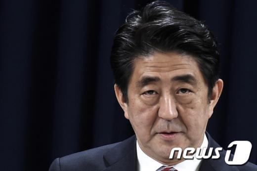 아베 신조 일본 총리. © AFP=뉴스1 2014.11.11/뉴스1 © News1