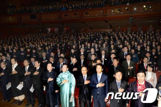 [사진]한 자리에 모인 서울시 공무원들