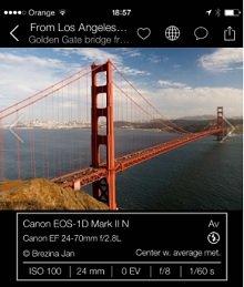 '프리피토' 앱이 여행지에서 찍힌 전문 사진작가들의 촬영 팁을 보여주고 있다/사진제공=프리피토