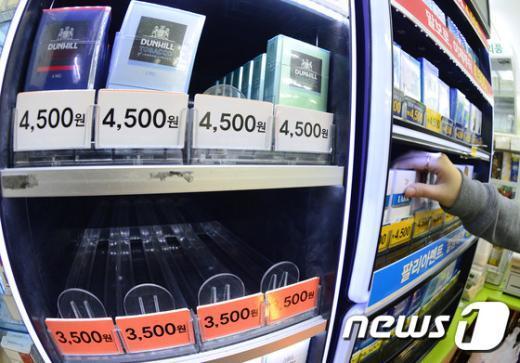 [사진]지난달 국산 담배 점유율, 처음으로 외국산에 뒤져