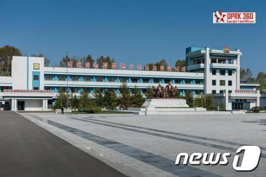 [사진]원산 송도원국제소년단야영소