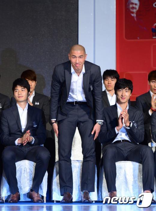 [사진]국가대표 차두리 '마지막 인사'