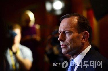 토니 애벗 호주 총리./사진=블룸버그통신