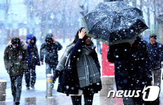 [사진]함박눈 내리는 서울